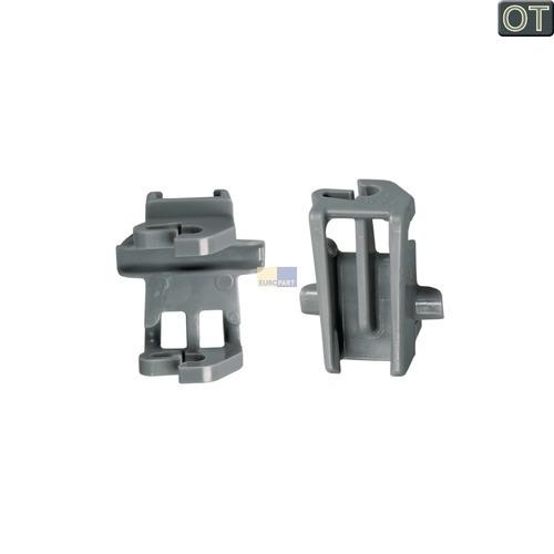 Klick zeigt Details von 2 Korbablagen-Lagerset für Oberkorb Bosch Siemens 00611474 für Spülmaschine