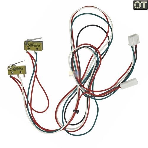 Klick zeigt Details von Schalter Mikroschalter an Kabel für Kaffeeauslauf Schwenkarm-Position