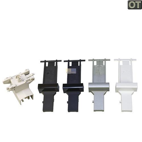 Klick zeigt Details von Tastenschalter 1-fach mit Tastenkappen im Set Siemens 00615357 für Spülmaschinen