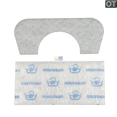 Klick zeigt Details von Filter für Staubbehälter Staubfilter Bosch Siemens 00642118 für Bodenstaubsauger