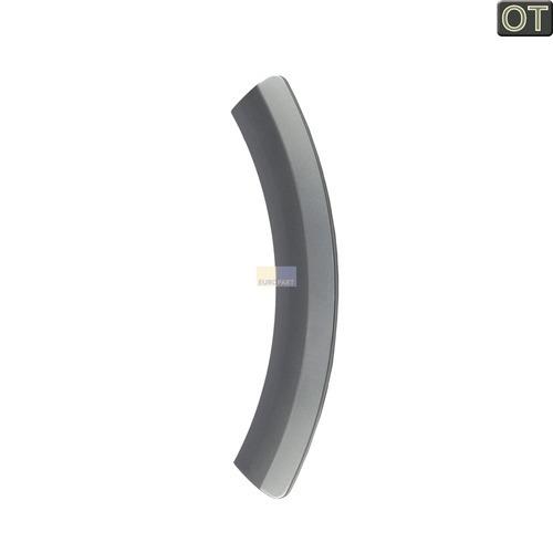 Klick zeigt Details von Griff Türgriff silber Bosch Siemens 00644452 SPL 27343 9000 008633 für Trockner