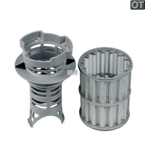 Klick zeigt Details von Bosch Balay Constructa Siemens Neff Spülmaschinen Sieb