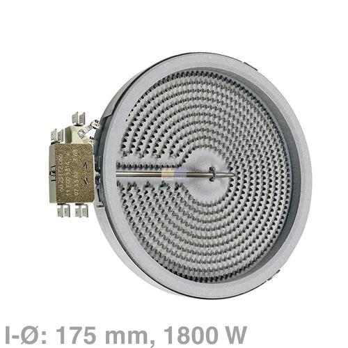 Bosch-Siemens-Hausgeräte (BSH) Strahlheizkörper 175mmØ 1800W 230V, OT! BSH 00647881