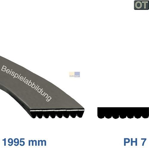 Klick zeigt Details von Poly-V-Riemen 1995 H7, TR  BSH 00650499