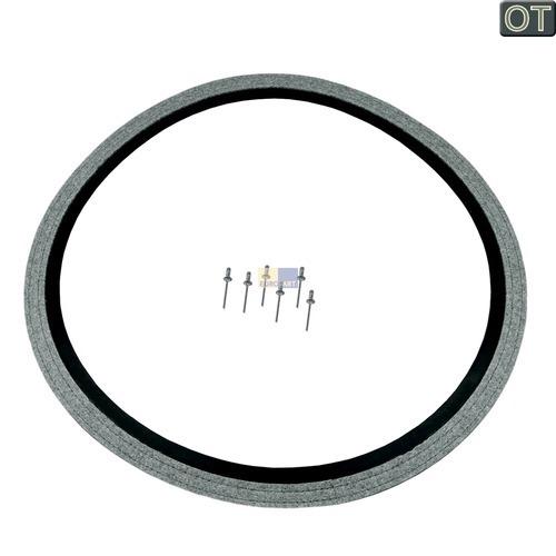 Klick zeigt Details von Trommeldichtung Dichtung hinten Bosch Siemens 00652500 Filzdichtung für Trockner