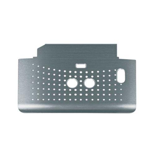 Klick zeigt Details von Abtropfschalenabdeckung silber Bosch 00655906