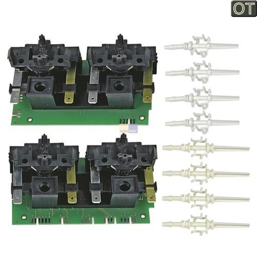 Klick zeigt Details von Elektronik Kodierschalterplatine rechts + links, Set