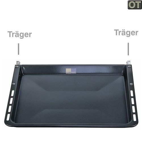 Klick zeigt Details von Backblech emailliert 29mm hoch OT! Bosch Siemens 00680615 Backofen Herde