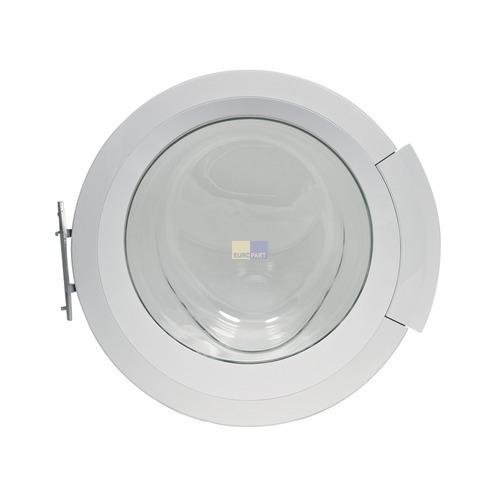 Klick zeigt Details von Tür komplett weiß BOSCH 00702630 Original für Waschmaschine