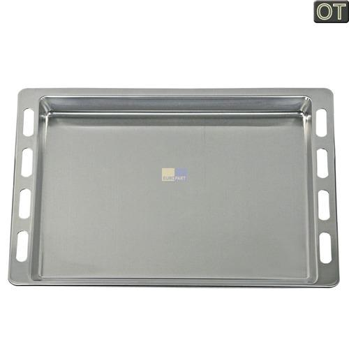 Klick zeigt Details von Backblech Aluminium 26mm hoch, 441x370mm  BSH 00740853