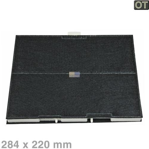 Klick zeigt Details von Kohlefilter 220x284mm, OT!