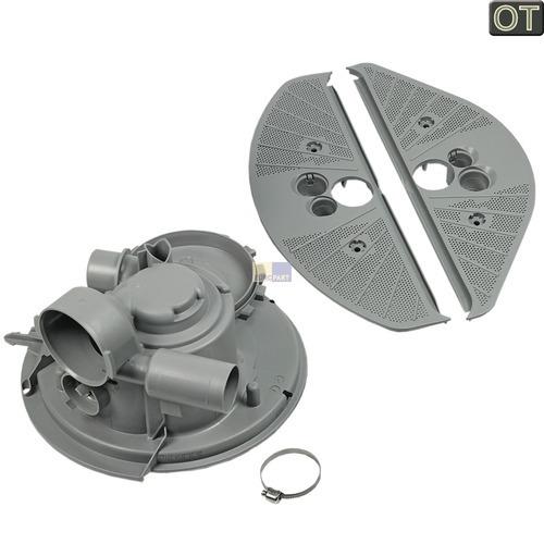 Klick zeigt Details von Pumpentopf + 2 Abdeckungen, Rep.-Satz GS  BSH 11002716