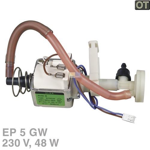 Klick zeigt Details von Pumpe Ulka EP5GW 48W 230V SIEMENS 12008614 Original für Kaffeemaschine