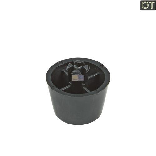 Klick zeigt Details von Gerätefuß schwarz
