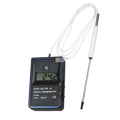 Klick zeigt Details von Digitalthermometer GHT175PT-K mit Kerntemperaturfühler