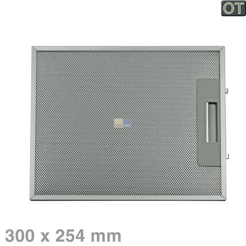 Klick zeigt Details von Fettfilter eckig Metall 300x254mm