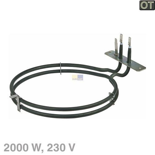 Heizelement Heißluft 2000W 230V  Küppersbusch 534319