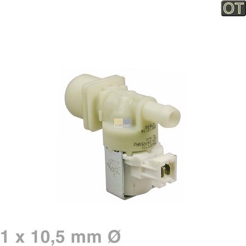 Klick zeigt Details von Magnetventil 1-fach 180° 10,5mm
