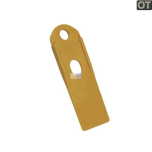 Klick zeigt Details von Deckelöffner / Abstreifer, Kunststoff gelb