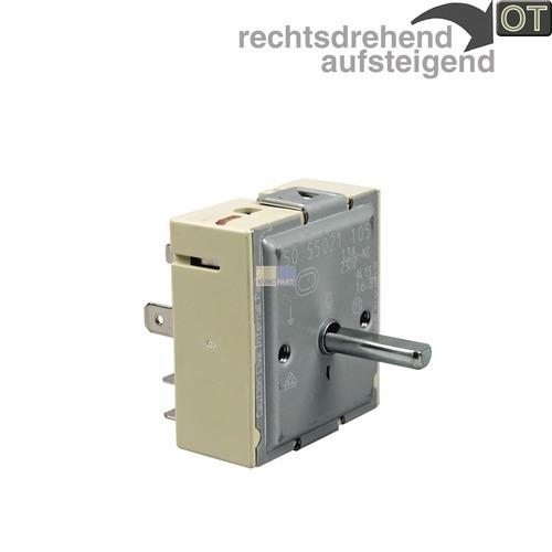 Klick zeigt Details von Energieregler 50.55021.105 Zweikreis OT! Miele