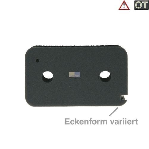 Klick zeigt Details von Filter Schaumfilter Sockelfilter an Wärmetauscher 215x130x30mm