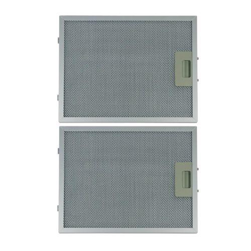 Klick zeigt Details von Fettfilter eckig Metall 320x260mm, 2 Stück