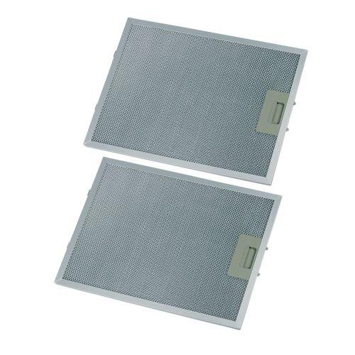 Klick zeigt Details von Fettfilter eckig Metall 344x267mm, 2 Stück