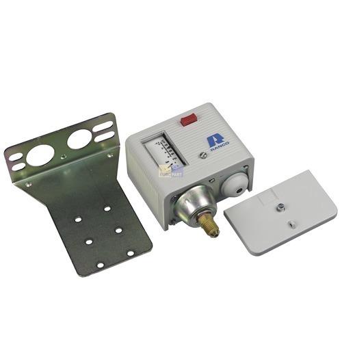 Klick zeigt Details von Druckschalter Niederdruck O16-H6705 Ranco Schalter für Gewerbekühlung Klimatechnik