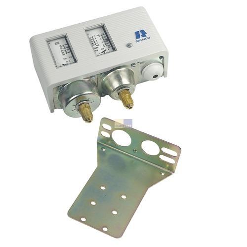 Klick zeigt Details von Druckschalter Hochdruck/Niederdruck kombiniert O17-H4758 Ranco