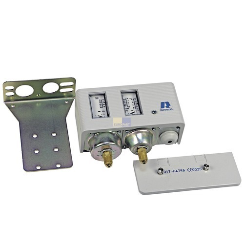Klick zeigt Details von Druckschalter Hochdruck/Niederdruck kombiniert O17-H4759 Ranco Doppeldruckregler
