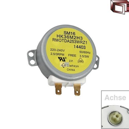 Klick zeigt Details von Drehtellermotor 2,5W
