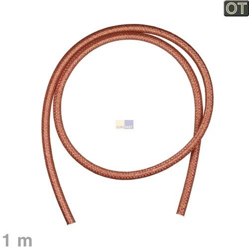 Klick zeigt Details von Schlauch 5,4x8mmØ, 1m rot, Philips Saeco 16000380.