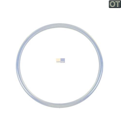 Klick zeigt Details von Dichtung für Tauch-Heizelement  143x129mmØ transparent, Stiebel-Eltron