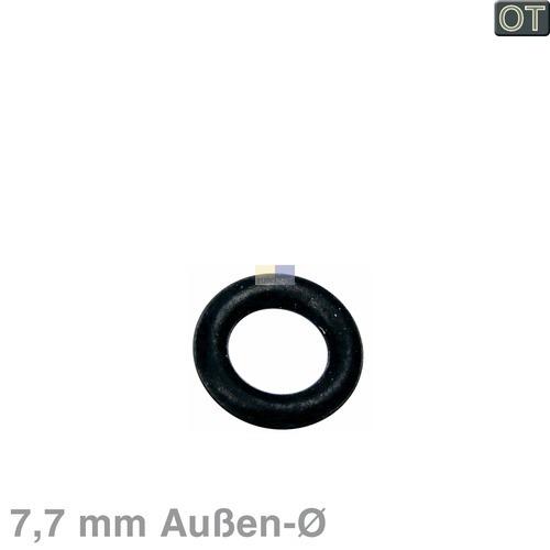 Klick zeigt Details von Dichtung 7,7mm/4,5mmØ für Heizelement / Temperaturfühler