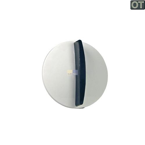 Klick zeigt Details von Knebel weiß/blau für Durchlauferhitzer  Stiebel-Eltron 254307
