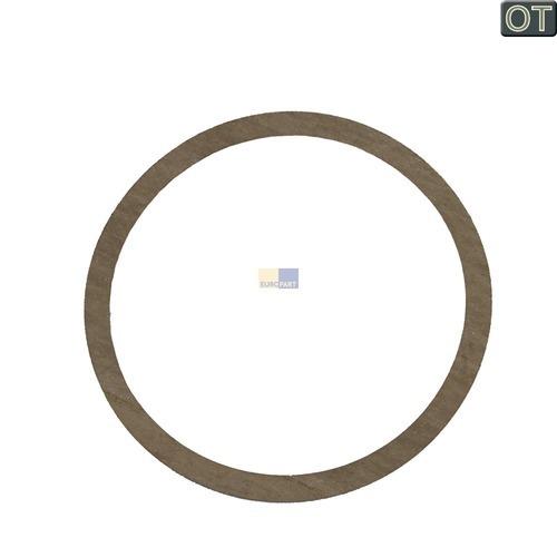 Klick zeigt Details von Dichtung für Tauch-Heizelement  168x145mm, Stiebel-Eltron 264714